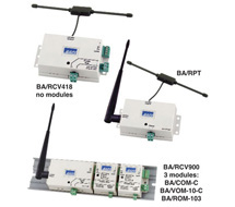 BAPI Wireless Receiver and Repeater BA/RCV-EZ and BA/RPT-EZ